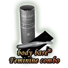 Body Bare and FeminineTrimmer - personal shavers