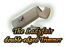 Ladyfair pubic hair trimmer- remove pubic hair